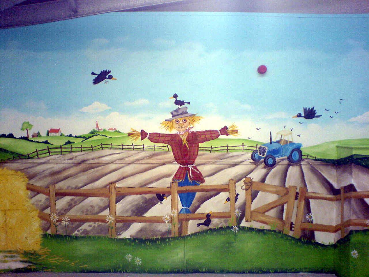 active kids adventure park mural