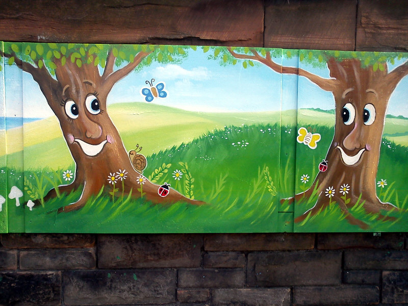 broughton primary mural