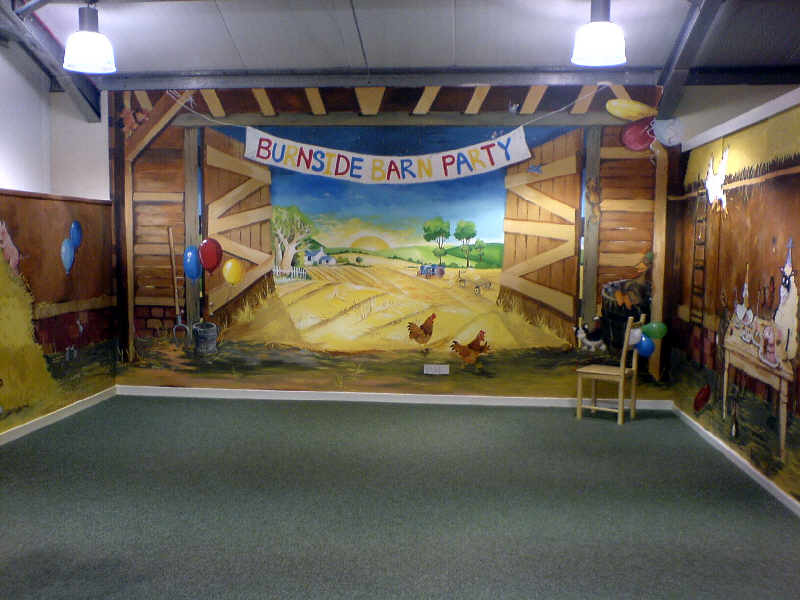 active kid toys mural